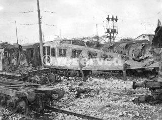 Deposito locomotive di Foggia_foggia bombardamento