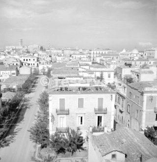 Foggia Settembre 1943 vista della città dopo che i tedeschi sono stati cacciati_foggia bombardamento