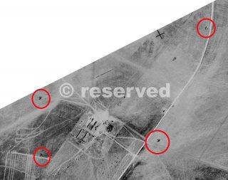 RAF reconnaissance photo foggia località Vangelese_foggia bombardamento