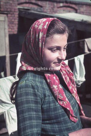 Unidentified girl Kutno Nazi-occupied Poland 1939