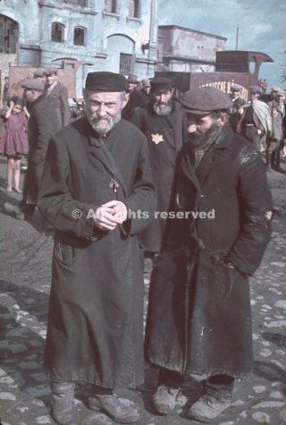 Unidentified men Kutno Nazi-occupied Poland 1939