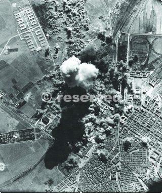 bombing foggia 1943 foto aerea_foggia bombardamento
