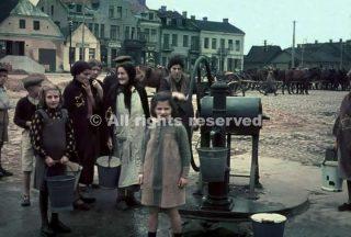 donne e bambini in gostynin polonia 1939