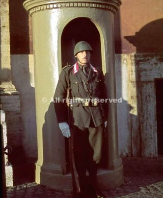 guardhouse a roma 1938_wwii