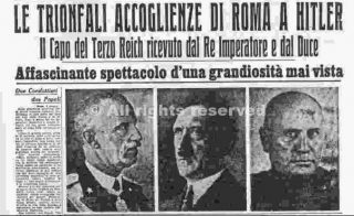 hitler a roma_wwii