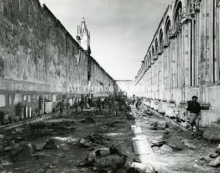 pisa Camposanto monumentale distrutto 1943