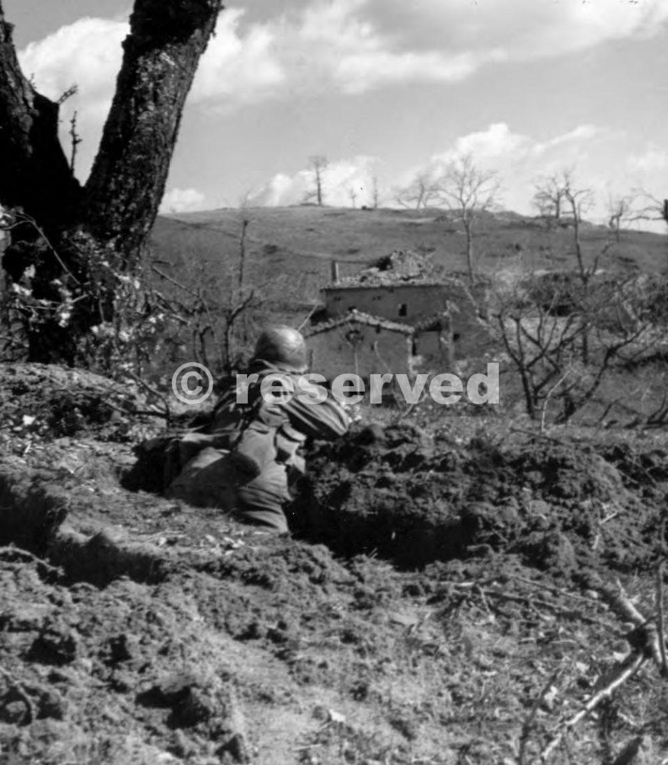 AZIONE FANTERIA durante l'attacco verso Monte della Spe