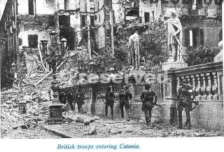British troops entering Catania_wwii_sicilia word war