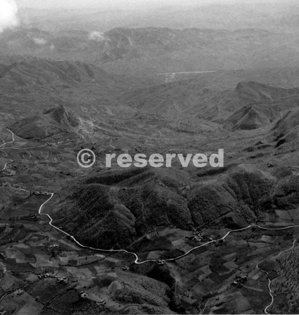 MONTE DELLA SPE foto aerea 1944