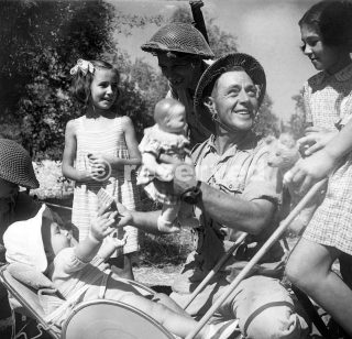 The Allied Forces landed in Sicily in July 1943