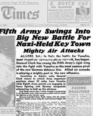 24 Oct 1943 VENAFRO ARTICOLO