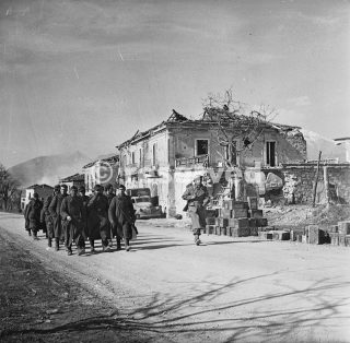 German captured  the New Zealand Division the Via Casilina in Cassino