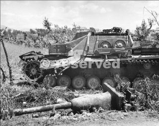 StuG IV  Sturmgechütz-Abteilung 907 eliminated in Pontecorvo Italy