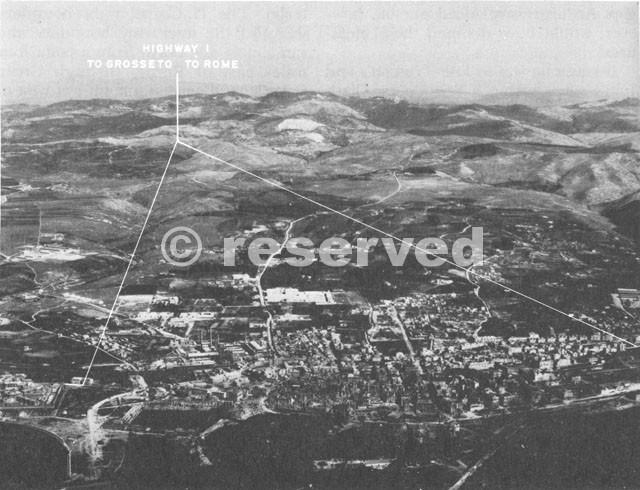 Aerial View of Civitavecchia
