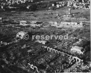 Allied Air Force bombing ferrovia rimini ottobre 1944_rimini foto di guerra
