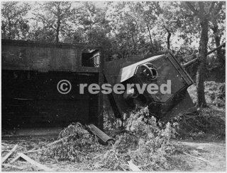 Destroyed German defences near Rimini_rimini foto di guerra