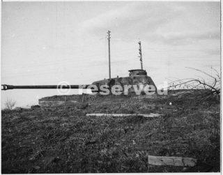 German 75mm gun captured north of Rimini 10 ottobre 1944_rimini foto di guerra