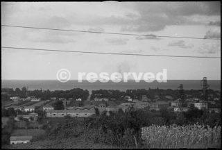 Picture taken from Riccione shows British destroyer shelling coastal defences of Rimini_rimini foto di guerra