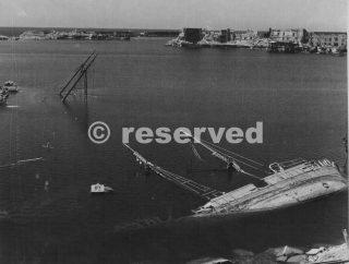 civitavecchia porto danneggiato 1944