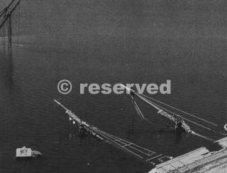 civitavecchia porto danneggiato 1944-wwii