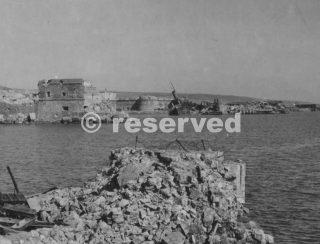 civitavecchia porto demolito dai bombardamentiwwii