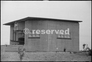 fortified German gun position near Riccione 10 set 1944_rimini foto di guerra