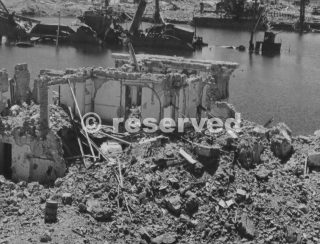 porto civitavecchia Demolished During Bombing Raids By The 12Th And 15Th Air Forceswwii
