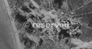 rimini Fortresses and Liberators of the 15th AAF in a raid on 28 Dec 1944_rimini foto di guerra