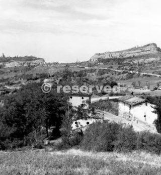 Livergnano comune di pianoro villaggio piccolo agglomerato di case in rovina tedeschi occuparono le case come le cime delle colline