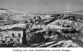 Looking west from Castelfrentano towards Orsogna_foto di guerra