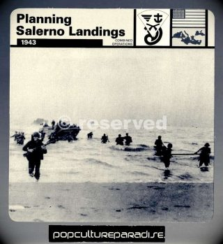 planning-salerno-landings-1943-us-143rd-infantry-card_ww2-