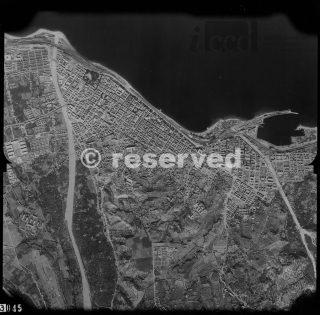 Reggio Calabria foto aerea 1945