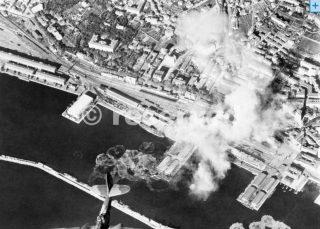 porto di genova bombing 1944_ww2