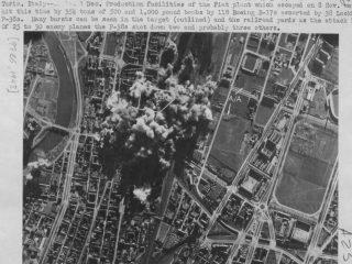 1 dicembre 1943 bombing Fiat stabilimento