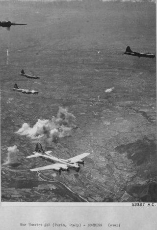 bombing Orbassano torino 24 luglio 44
