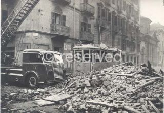 torino Portici di via Po incursione aerea 9 dicembre 1942