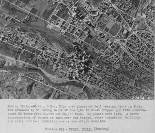 torino bombing 8 novembre 1943