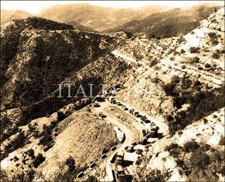 Allied convoy on Muraglione Pass Autumn 1944