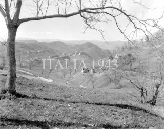 Castel D'Aiano 1945 the village