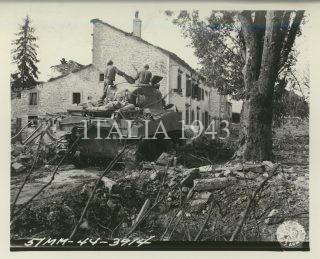 Firenzuola Italy September 1944