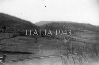 Mt Della Spe taken from Castel d'Aiano 1945