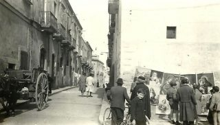 Side Street in Cerignola 1944
