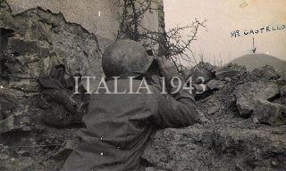 area Monte Castello 1945