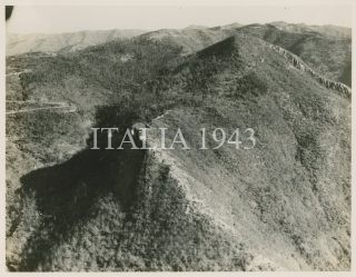 fortifications in the Gothic Line in the Apennines