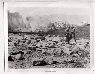 1943 Sicily Americans Take Over Debris Strewn Messina