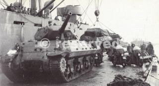 1944- Italie 8e rca débarquement Naples