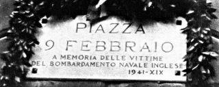 9 febbraio 1941 Genova bombardata dagli inglesi