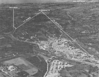 Aerial View of Valmontone 1943