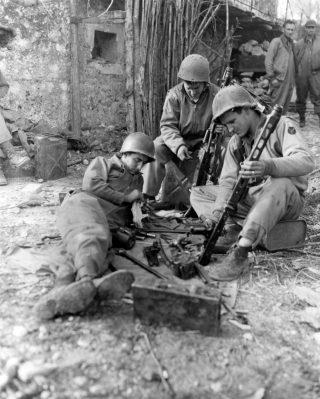 American soldiers lazio frosinone 12 gennaio 1944