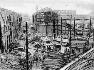 Bombardamento aereo delle Officine e gasometri della Fiumara e linea ferroviaria Genova Ventimiglia